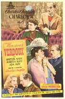 Monsieur Verdoux - Spanish Movie Poster (xs thumbnail)