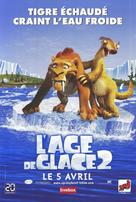 Ice Age: The Meltdown - French Movie Poster (xs thumbnail)