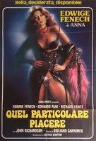 Anna, quel particolare piacere - Italian Movie Poster (xs thumbnail)
