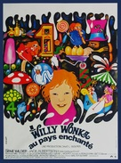 Willy Wonka & the Chocolate Factory - French Movie Poster (xs thumbnail)