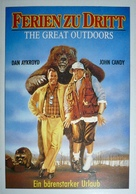 The Great Outdoors - German Movie Poster (xs thumbnail)