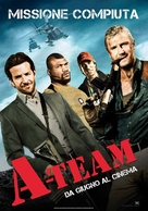 The A-Team - Italian Movie Poster (xs thumbnail)