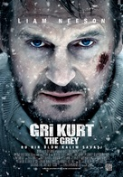 The Grey - Turkish Movie Poster (xs thumbnail)