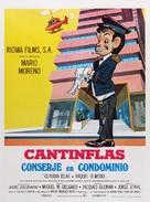 Conserje en condominio - Mexican Movie Poster (xs thumbnail)