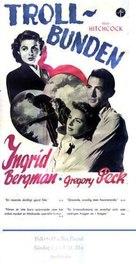 Spellbound - Swedish Movie Poster (xs thumbnail)
