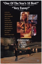 Everyone Says I Love You - Video release movie poster (xs thumbnail)