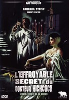L'orribile segreto del Dr. Hichcock - French DVD cover (xs thumbnail)