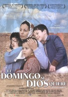 Inch'Allah dimanche - Spanish Theatrical poster (xs thumbnail)