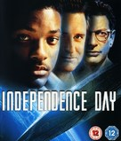 Independence Day - British Blu-Ray movie cover (xs thumbnail)