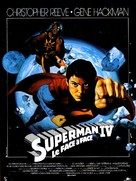 Superman IV: The Quest for Peace - French Movie Poster (xs thumbnail)