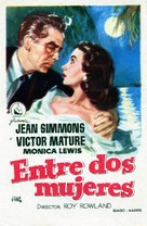 Affair with a Stranger - Spanish Movie Poster (xs thumbnail)