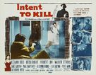 Intent to Kill - Movie Poster (xs thumbnail)