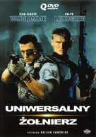 Universal Soldier - Polish DVD cover (xs thumbnail)