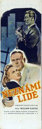 When Strangers Marry - Czech Movie Poster (xs thumbnail)