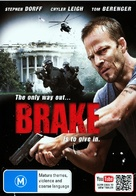 Brake - Australian DVD movie cover (xs thumbnail)