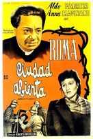 Roma, città aperta - Argentinian Movie Poster (xs thumbnail)