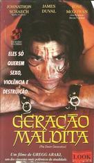 The Doom Generation - Brazilian VHS cover (xs thumbnail)