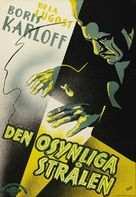 The Invisible Ray - Swedish Movie Poster (xs thumbnail)