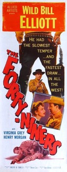 The Forty-Niners - Movie Poster (xs thumbnail)