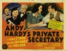 Andy Hardy's Private Secretary - Movie Poster (xs thumbnail)