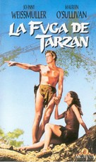 Tarzan Escapes - Spanish VHS cover (xs thumbnail)