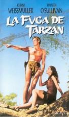 Tarzan Escapes - Spanish VHS movie cover (xs thumbnail)