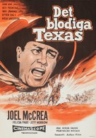 The First Texan - Swedish Movie Poster (xs thumbnail)