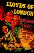 Lloyd's of London - Movie Poster (xs thumbnail)
