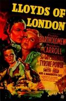 Lloyd's of London - Movie Poster (xs thumbnail)