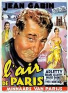 Air de Paris, L' - Belgian Movie Poster (xs thumbnail)