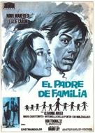 Il padre di famiglia - Spanish Movie Poster (xs thumbnail)