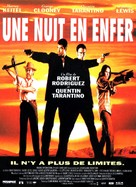 From Dusk Till Dawn - French Movie Poster (xs thumbnail)