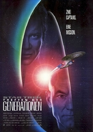Star Trek: Generations - German Movie Poster (xs thumbnail)
