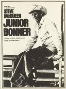 Junior Bonner - Czech Movie Poster (xs thumbnail)
