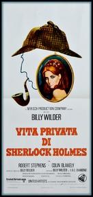 The Private Life of Sherlock Holmes - Italian Movie Poster (xs thumbnail)