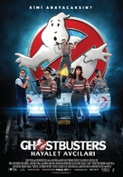 Ghostbusters - Turkish Movie Poster (xs thumbnail)