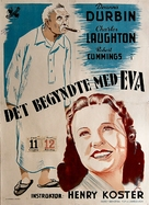 It Started with Eve - Danish Movie Poster (xs thumbnail)