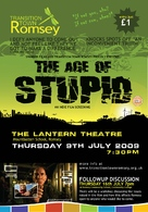The Age of Stupid - British Movie Poster (xs thumbnail)