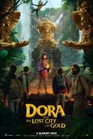 Dora and the Lost City of Gold - Indian Movie Poster (xs thumbnail)