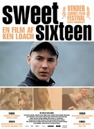 Sweet Sixteen - Danish Movie Poster (xs thumbnail)