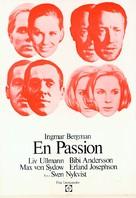 En passion - Swedish Movie Poster (xs thumbnail)