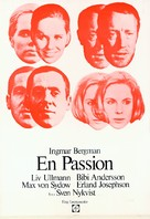 The Passion of Anna - Swedish Movie Poster (xs thumbnail)