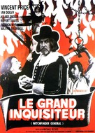 Witchfinder General - French Movie Poster (xs thumbnail)