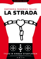 La strada - Polish Movie Poster (xs thumbnail)
