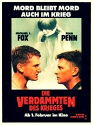 Casualties of War - German Movie Poster (xs thumbnail)