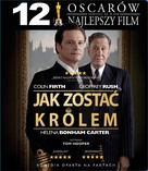 The King's Speech - Polish Blu-Ray cover (xs thumbnail)