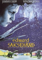 Edward Scissorhands - Norwegian Movie Cover (xs thumbnail)