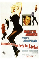 Let's Make Love - German Movie Poster (xs thumbnail)