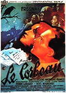 Le corbeau - French Movie Poster (xs thumbnail)