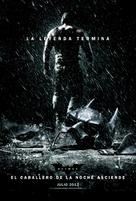The Dark Knight Rises - Argentinian Movie Poster (xs thumbnail)